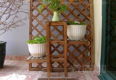 木制室内花架 几种不同风格的木制室内花架介绍