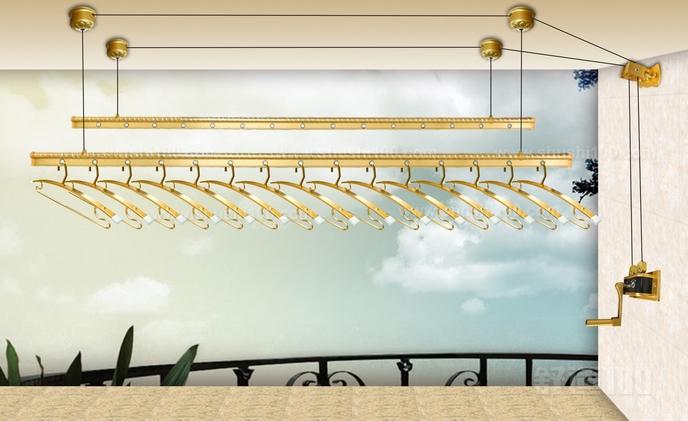 阳台晾衣架安装 阳台晾衣架安装教学
