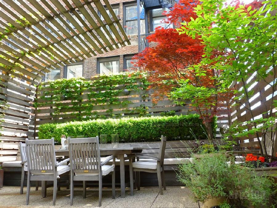 美式小花园如何设计—美式小花园设计技巧图片