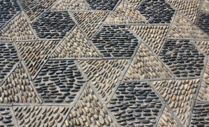鹅卵石地砖—鹅卵石地砖的铺设方法