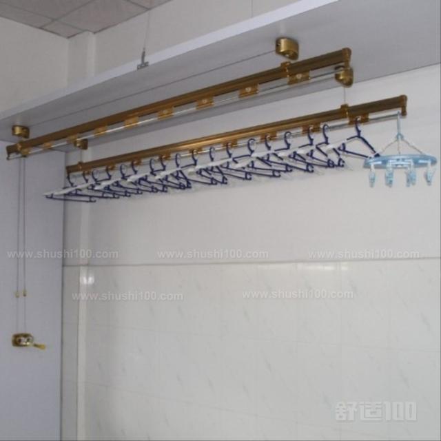 阳台晾衣架设计 阳台晾衣架设计安装注意事项