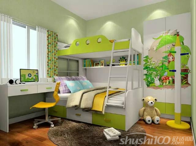 兩個寶寶兒童房裝修—兩個寶寶兒童房間設計風格