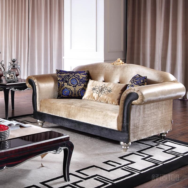 欧式布艺沙发后现代新古典大户型客厅转角沙发组合e