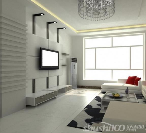 选择尺寸:家庭装修设计师提醒您,除了背景墙的尺寸,其实电视的购买尺寸也要考虑好,这个需要根据客厅的大小来购买,并同时考虑使用挂式或放置电视机柜上面的种类。 测度高度与长度:小编建议您首先测量墙体的长度与高度,并综合考虑背景墙周围的其它家庭设备,比如 空调、吊顶高度,以及音箱等的位置,来确定电视的高度,除此之外,郑州家装公司建议您再将客厅中的所有物品列一个清单,比如视听组合、书籍杂志、陈列品、 电子产品、玩具等,然后大致的划分出收纳方案。  背景墙 视听位置选择:当一切都己经设计安装好之后,就要调节各种设备