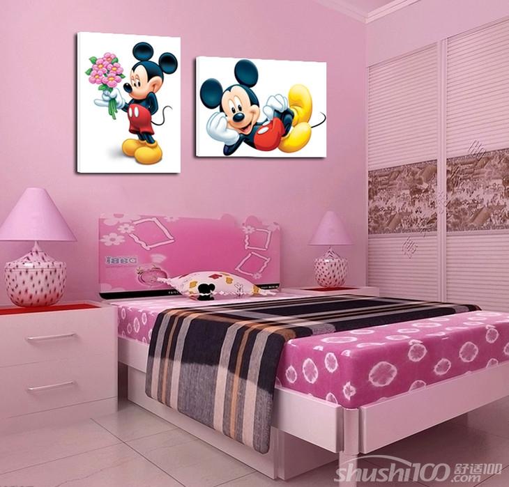 儿童房间挂画—儿童房装饰画的搭配原则