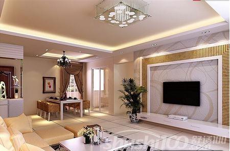 很多人都会在客厅安装电视墙