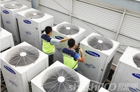 三星中央空调清洗—三星中央空调清洗的要求和特点