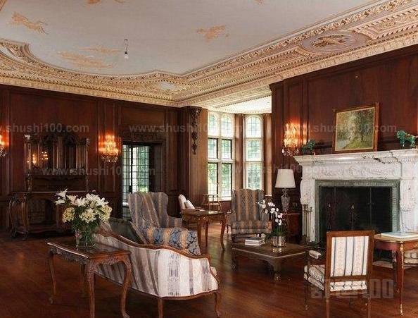 比如说美式风格,欧式风格,地中海式风格,但是你听说过哥特式室内设计图片