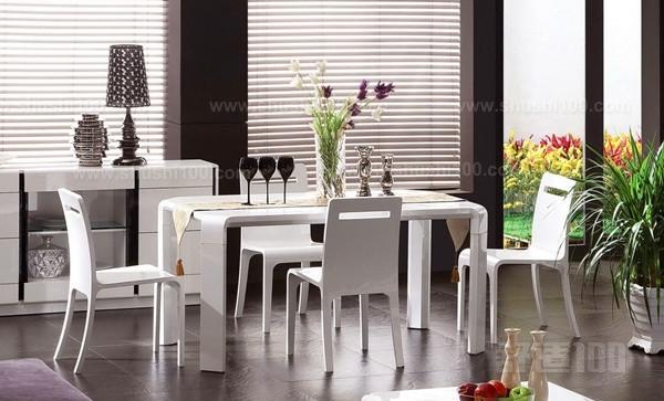 现代时尚餐边柜—美式餐桌椅和欧式餐桌椅的区别