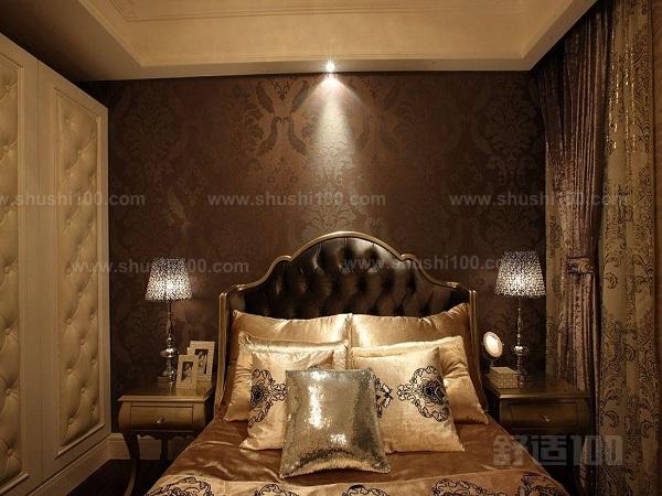 欧式床头壁纸—欧式床头壁纸如何与卧室家具进行搭配