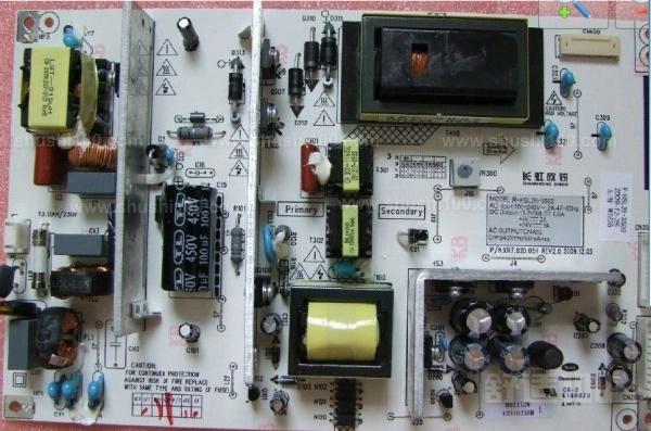 长虹电视电源板—长虹电视电源板故障维修事项