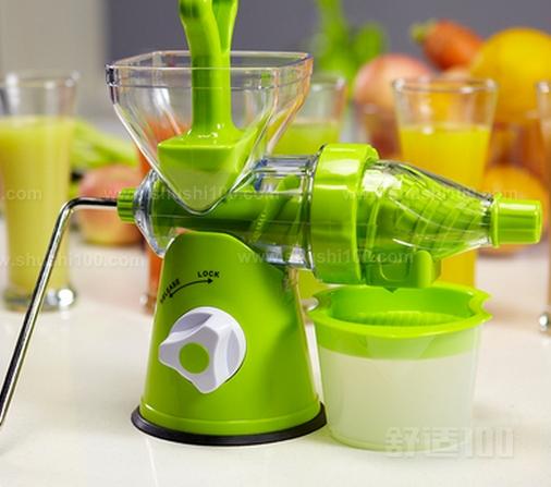 手摇榨汁机好用吗—手摇榨汁机有哪些好处