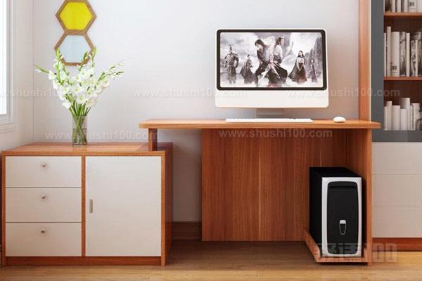 款电脑桌是实木的电脑桌,经过了多道工序的打磨,电脑桌的边角都很圆润