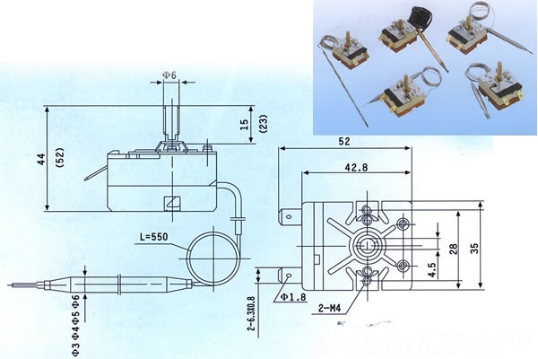 lm358可调温控器电路图