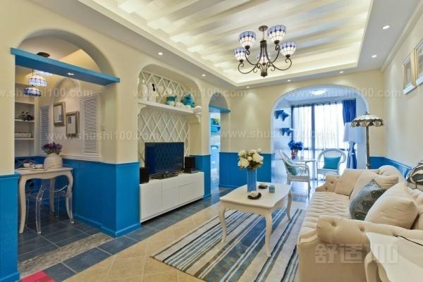 地中海装潢—地中海风格客厅的六个装修特点