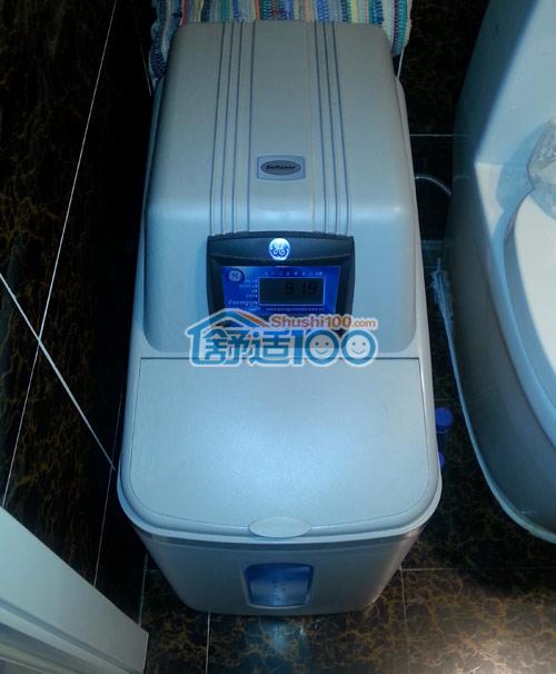 烟台黄海城市花园软水机工程案例-轻松锻造高品质家庭用水