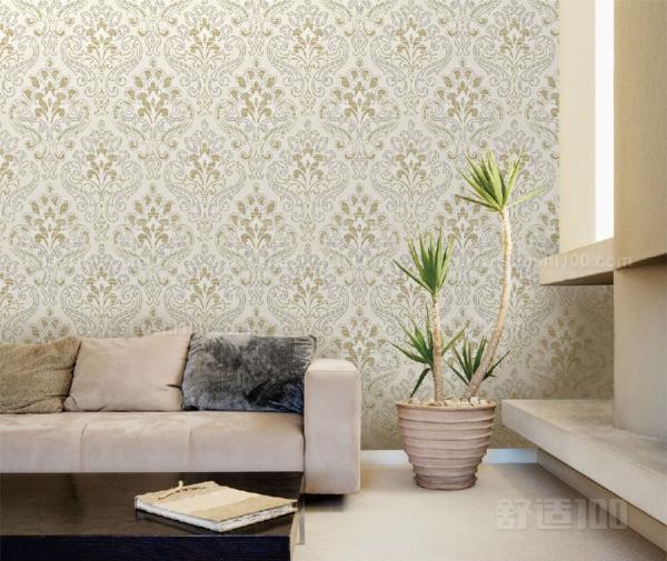 客厅小贴墙纸—要避免走入选购客厅墙纸的误区