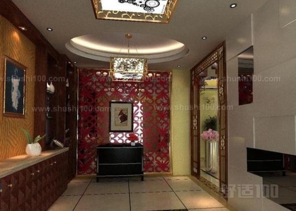 欧式风格的装修中,门厅玄关的设计是要注意方法的
