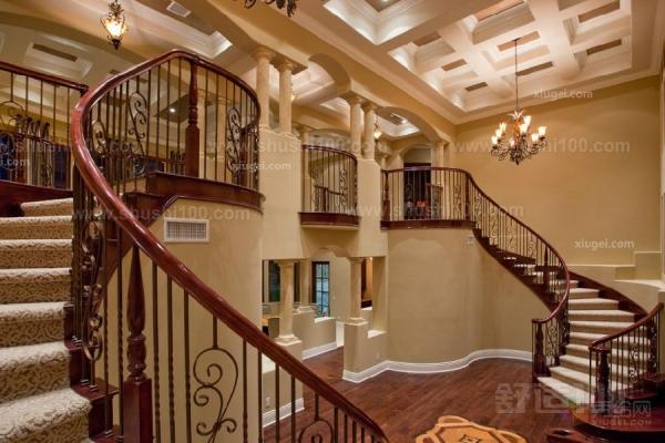 欧式装修楼梯—欧式转角楼梯装修的特点