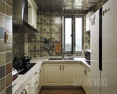 正方形小厨房装修 正方形小厨房装修技巧有哪些高清图片