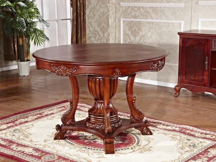 实木雕花餐桌—让人信赖的实木雕花餐桌