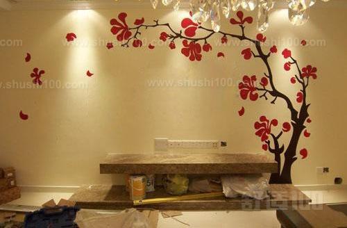 客厅手绘墙—带你深入了解手绘墙