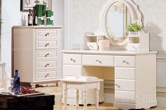 书桌式梳妆台—欧式书桌梳妆台