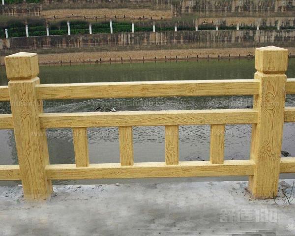 水泥仿木纹栏杆其实就是一种仿木制的栏杆,其实是由混凝土制成的.