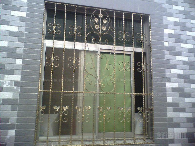 欧式铁艺窗—欧式铁艺防盗窗特点