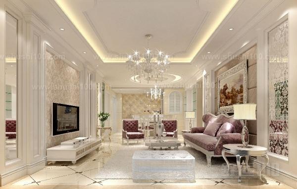 地板低调,在地板的选择方面,色泽饱满,深色典雅的花色都可最大限度的体现欧式风格。如红檀,黄檀,古典橡木等花色。如果是复式的房子,一楼大厅的地板可以采用石材进行铺设,这样会显得大气。如果是普通居室,客厅与餐厅最好还是铺设木质地板。地毯:地毯的舒适脚感和典雅的独特质地与西式家具的搭配相得益彰。选择时最好是图案和色彩相对淡雅,过于花哨的地面也许会与复古欧式装修的宁静和谐相冲突。 处理元素多样,这种奢华逐渐成为一种时尚,不单单是追求欧式风格里的富丽堂皇,人们更属意在其中添加一份独特的意大利风格的浪漫优雅,融入巴洛