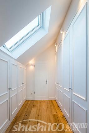 斜顶阁楼衣帽间—教你如何巧妙利用阁楼空间
