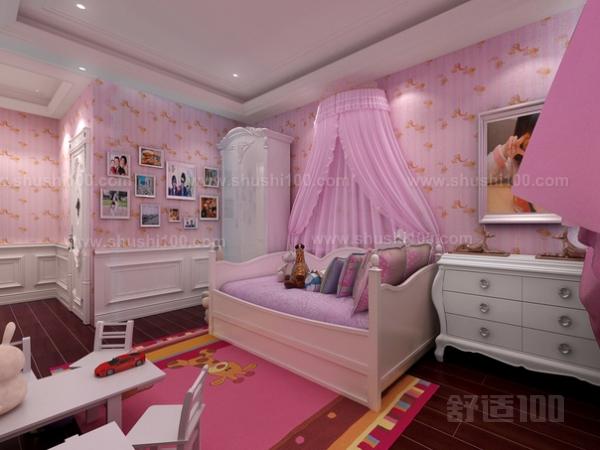 公主风卧室装修—公主卧室装修的风格和装修知识