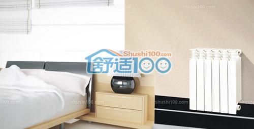 卧室暖气片安装效果图,小巧的外形,精致的工艺设计,简约而时尚图片