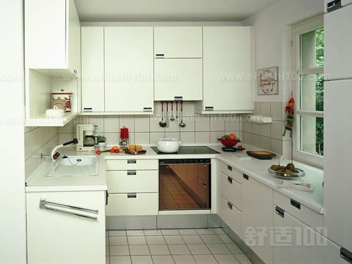 厨房吊柜安装—工艺流程   找线定位→框,架安装→厨房吊柜,隔板