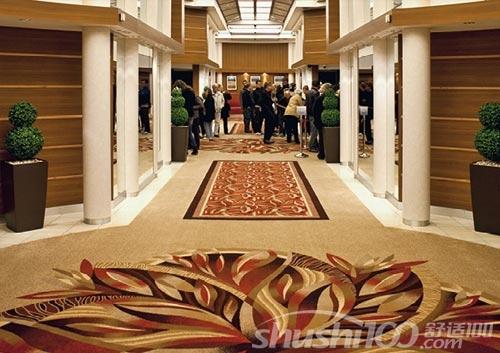 中国所生产 的编织地毯