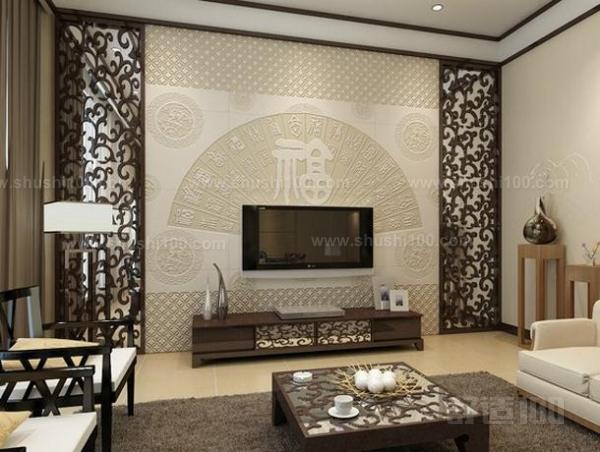 如今的电视背景墙墙有实木的,玉石的,当然也有瓷砖的,抛釉砖电视背景