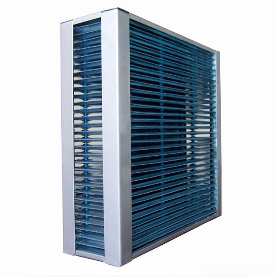 翅片式热交换器—翅片式热交换器原理及特点介绍