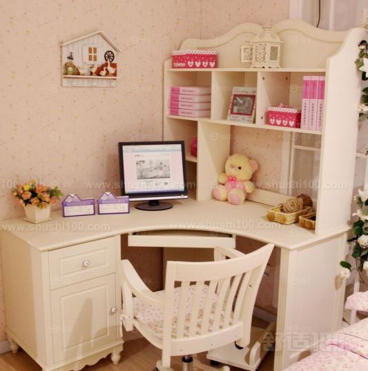 电脑桌梳妆台一体 时尚创意家居设计高清图片