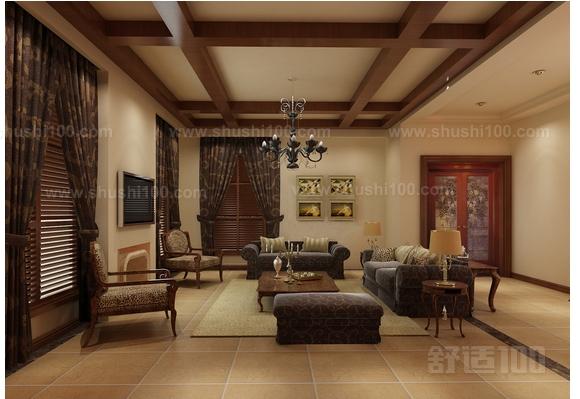 农村客厅摆设—农村客厅家具的摆设方法
