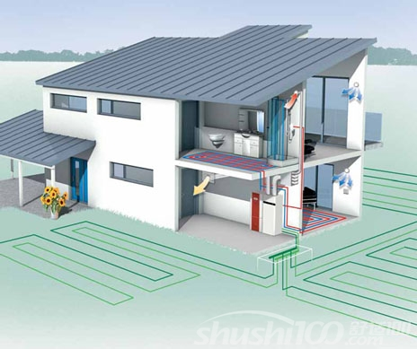 别墅地源热泵原理—别墅地源热泵制冷制热原理介绍