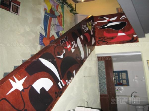 楼梯手绘墙—楼梯手绘墙设计要点