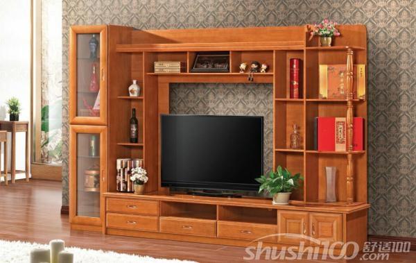 红木博古架电视柜—红木博古架电视柜的尺寸设计及选购技巧