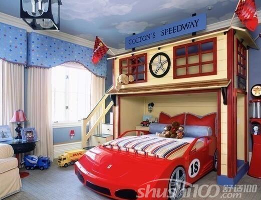 个性儿童房间—为孩子打造梦幻空间