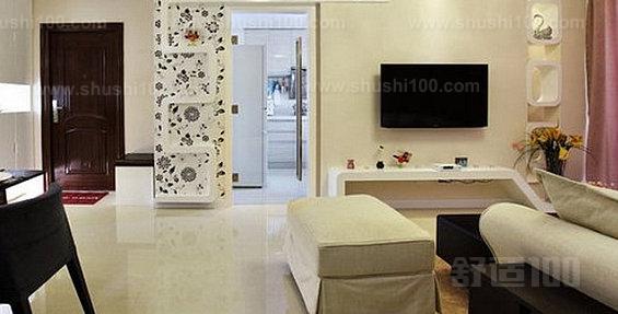 客厅从卧室借光 将卧室与客厅之间的墙改成半透明