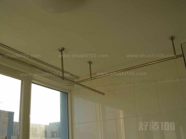 晾衣杆安装 阳台晾衣杆安装步骤