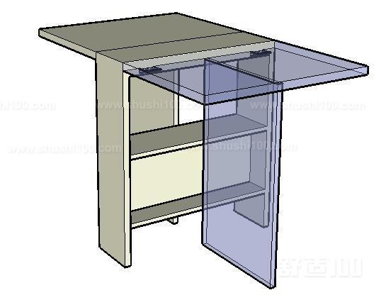 折叠式餐桌—折叠式餐桌的优点和选材保养知识图片