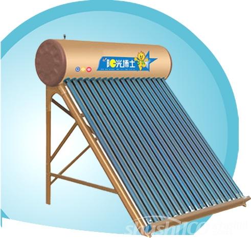 阳光博士太阳能热水器—如何清洗阳光博士太阳能热水器