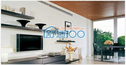 是系统厨柜空调,黑白新风空调好系统亚克力新风效果图图片