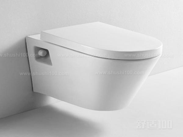 悬挂式马桶是由隐蔽水箱组合而成