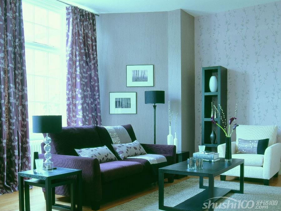 柔然无纺布墙纸客厅装修效果